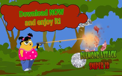 Diamond attack sniper 3D