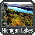 Michigan Lakes gps navigator icon