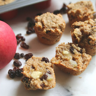 Healthy Apple Cinnamon Raisin Muffins