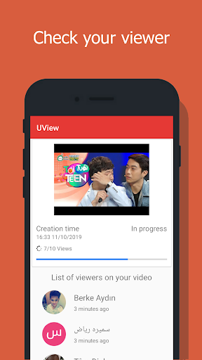UView - View4View - Get free views for video. screenshots 3