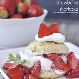 Brown Sugar Strawberry Shortcake
