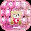 Pink Glitter Keyboard Changer APK