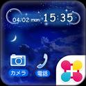月夜の壁紙きせかえ Moon Night History icon