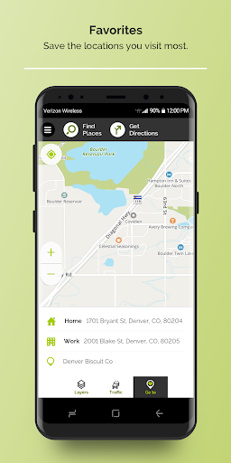 MapQuest: Directions, Maps, GPS & Navigation screenshot
