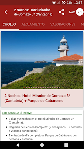 BuscoUnChollo - Viajes Ofertas screenshot 7