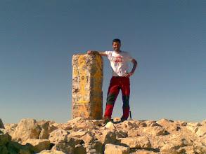 Photo: Haciendo cumbre en la Sierra de La Sagra, viendo el Mulhacen, alli estabamos hace una semana, que sensacion! --enviado desde mi nokia E61i