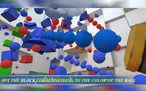 RGBalls u2013 Cannon Fire : Shooting ball game 3D apkpoly screenshots 15