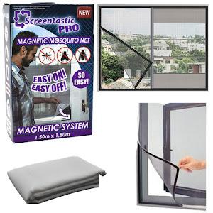 Plasa magnetica antiinsecte, 150 x 180 cm, Screentastic Pro