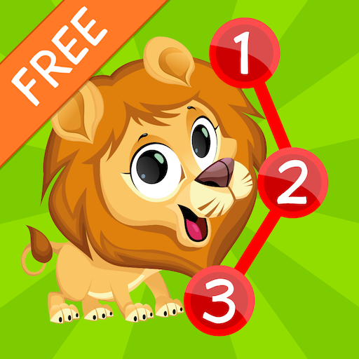 Kids Animals Connect Dots Free