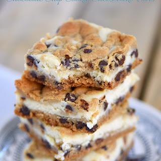 Chocolate Chip Cookie Cheesecake Bars.