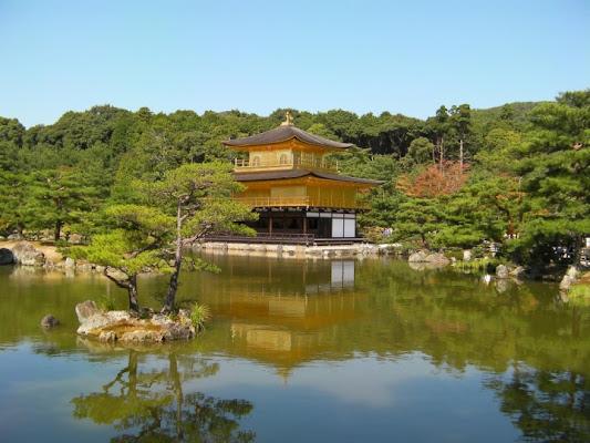 Il padiglione d'oro di kyoto di samui