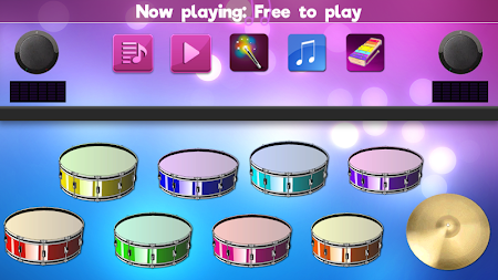 Colorful Instrument Simulator –Piano, Drum, Guitar APK screenshot thumbnail 3