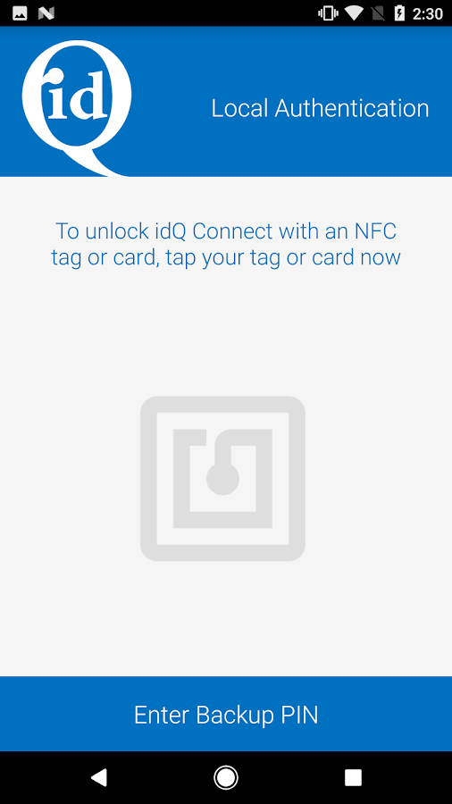 idQ Connect- screenshot