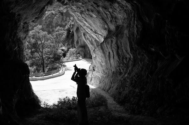 Nella grotta di Luporosso