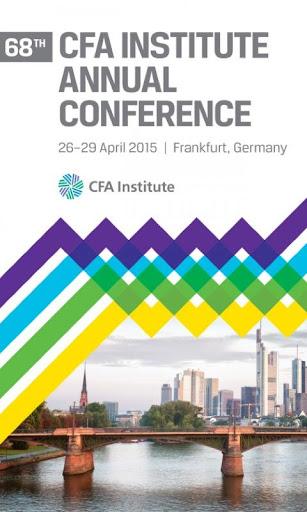 68th CFA Institute Annual