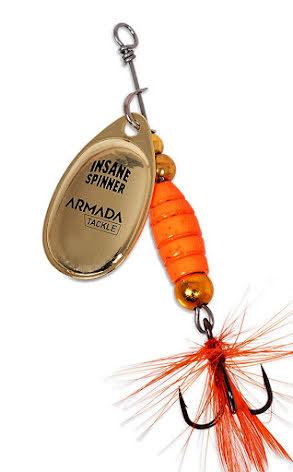Armada Insane Spinner 9 gram Orange/Gold