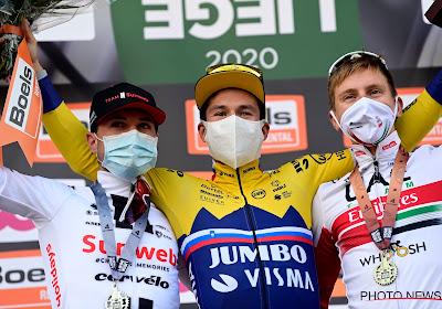 Primož Roglič wint Luik-Bastenaken-Luik twee weken nadat hij Tourzege verspeelde
