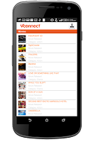 Screenshot of VConnect
