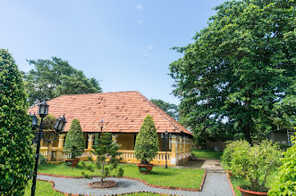 Photo: a mix of French & traditional Vietnamese house styles