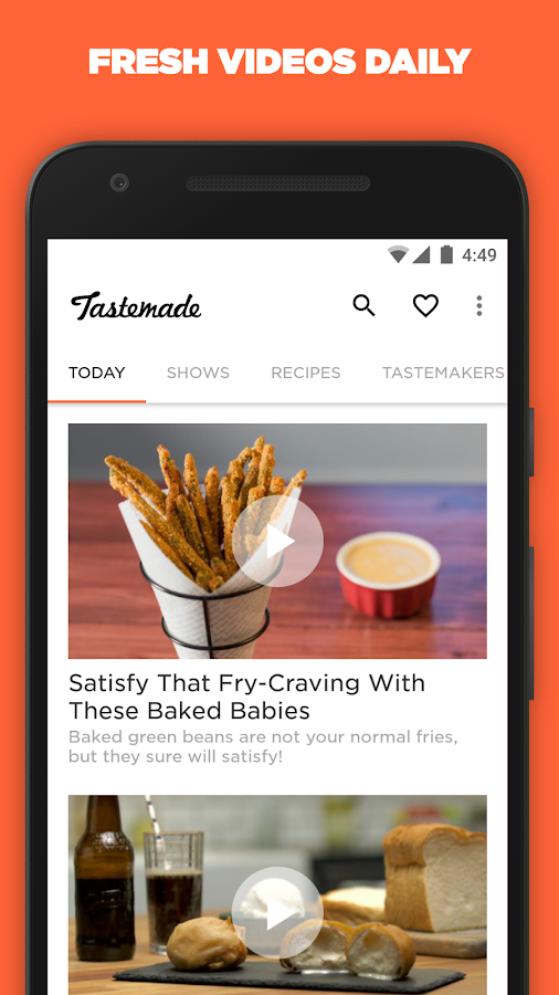 Tastemade- screenshot
