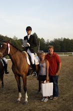 Photo: I m-ce Klasa P4     Adriana Pytelewska na koniu SANTIAGO