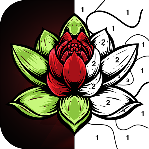 Color By Number -  Relaxing Free Coloring Book APK Cracked Download