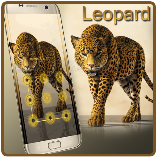 Gold Leopard Cool AppLock