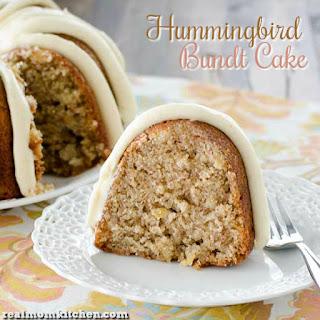 Hummingbird Bundt Cake.