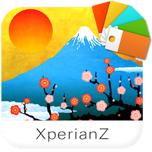 New Year Fuji for XperianZ Gratis