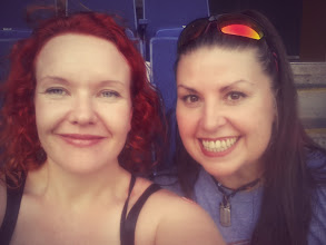 Photo: at the baseball game with meesh!