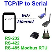 TCPIP to RS232 RS485 Terminal