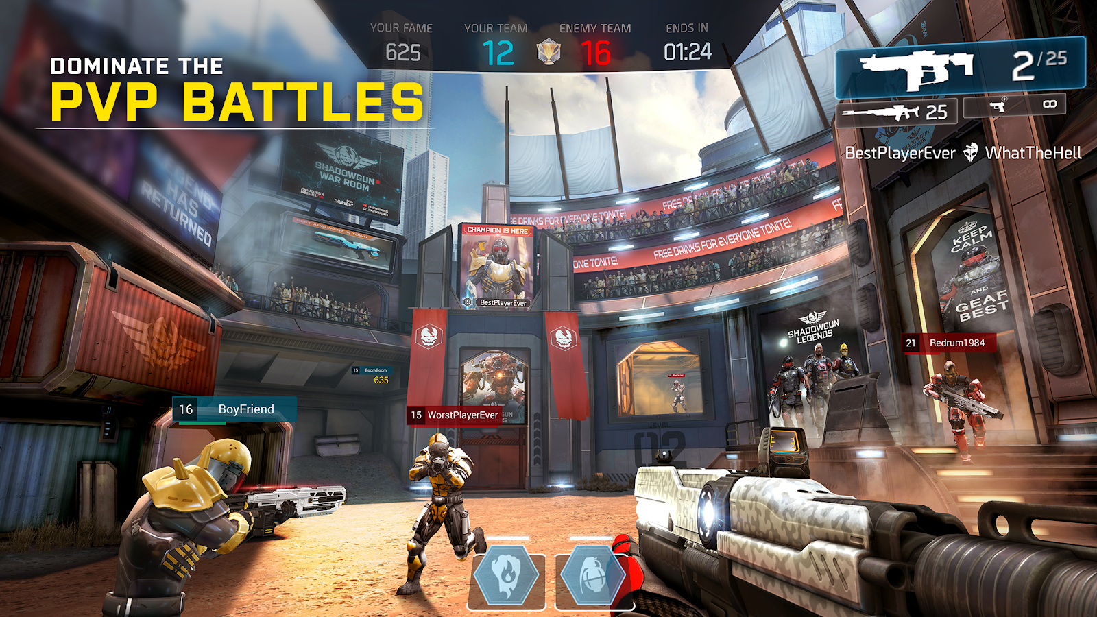 SHADOWGUN LEGENDS- screenshot