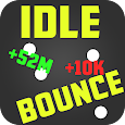 Idle Bounce - Idle Clicker Game icon