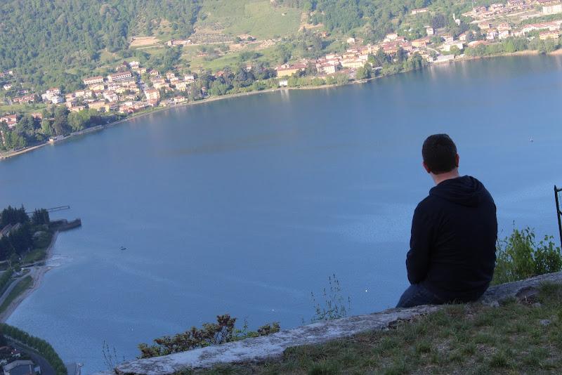 Vista dal Castello dell'Innominato di Matteo Villa