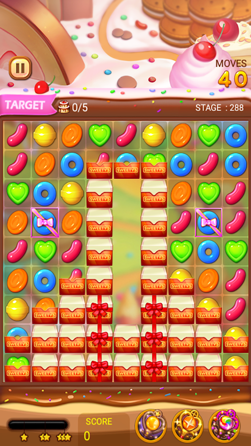 CANDYTIME : SWEET PUZZLE- screenshot