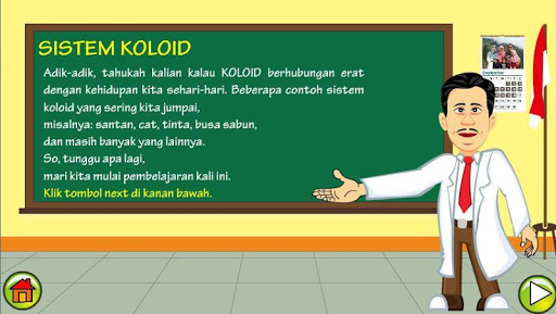 ChemOnDro Sistem Koloid 1.1.0 screenshots 2
