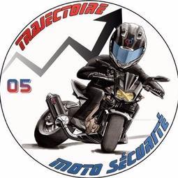 trajectoire moto securité