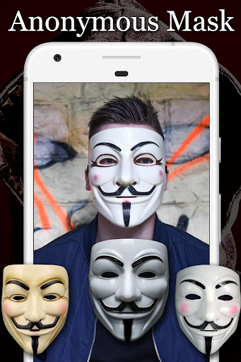 Anonymous Mask Photo Editor Free 8.8 screenshots 1