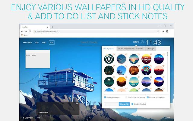 Firewatch Wallpaper HD Custom New Tab