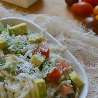 Mediterranean Rice Pasta Salad.
