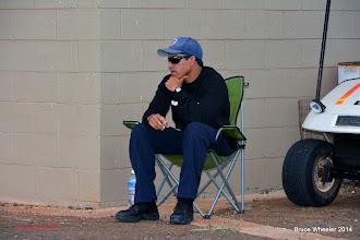 Photo: Jason, the EMT on duty. Nice guy...