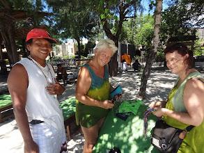 Photo: 3 - GILI TRAWANGAN devant notre guest TANAH QITA