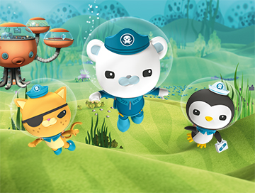 Watch the Octonauts on Hopster