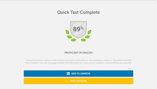 Duolingo English Test screenshot 8