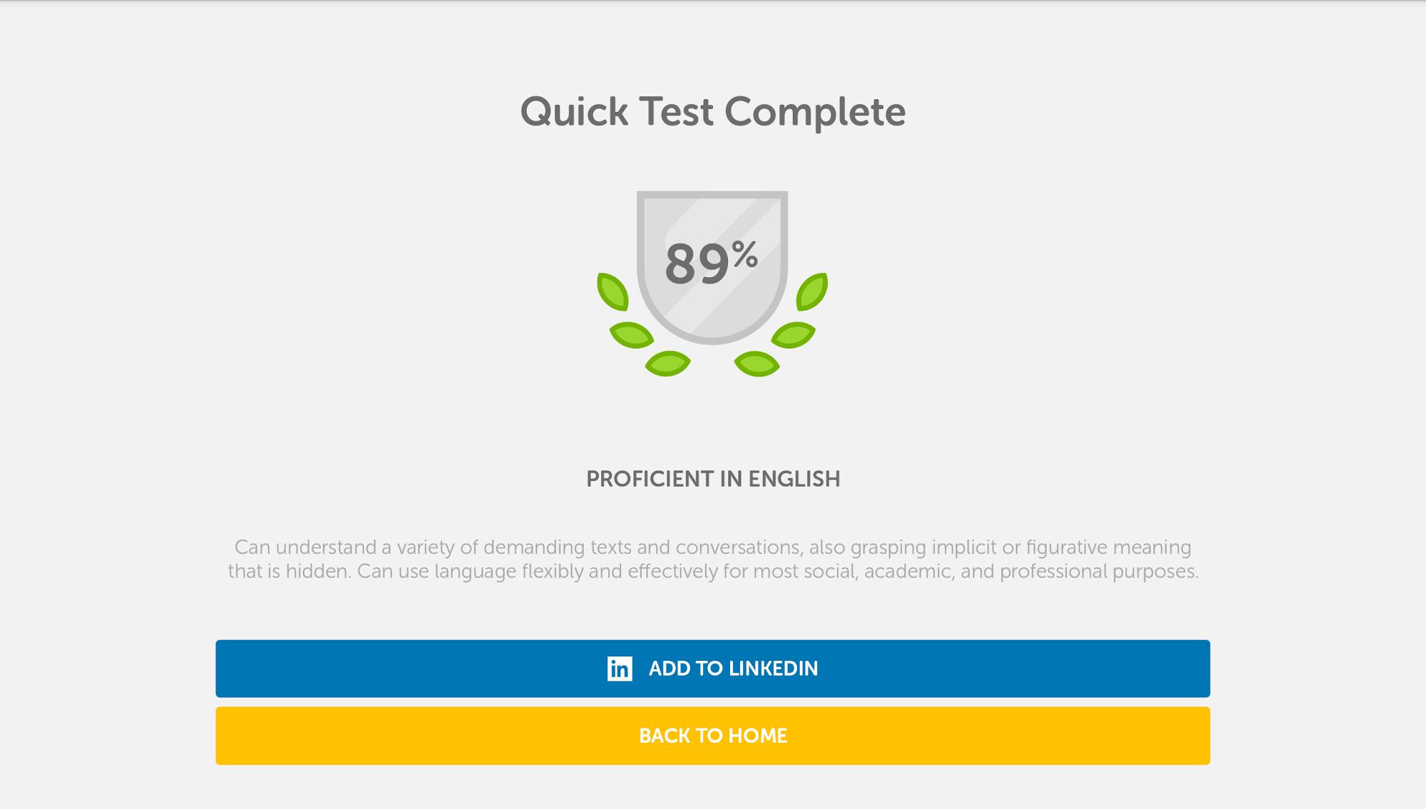 Duolingo English Test screenshot #8