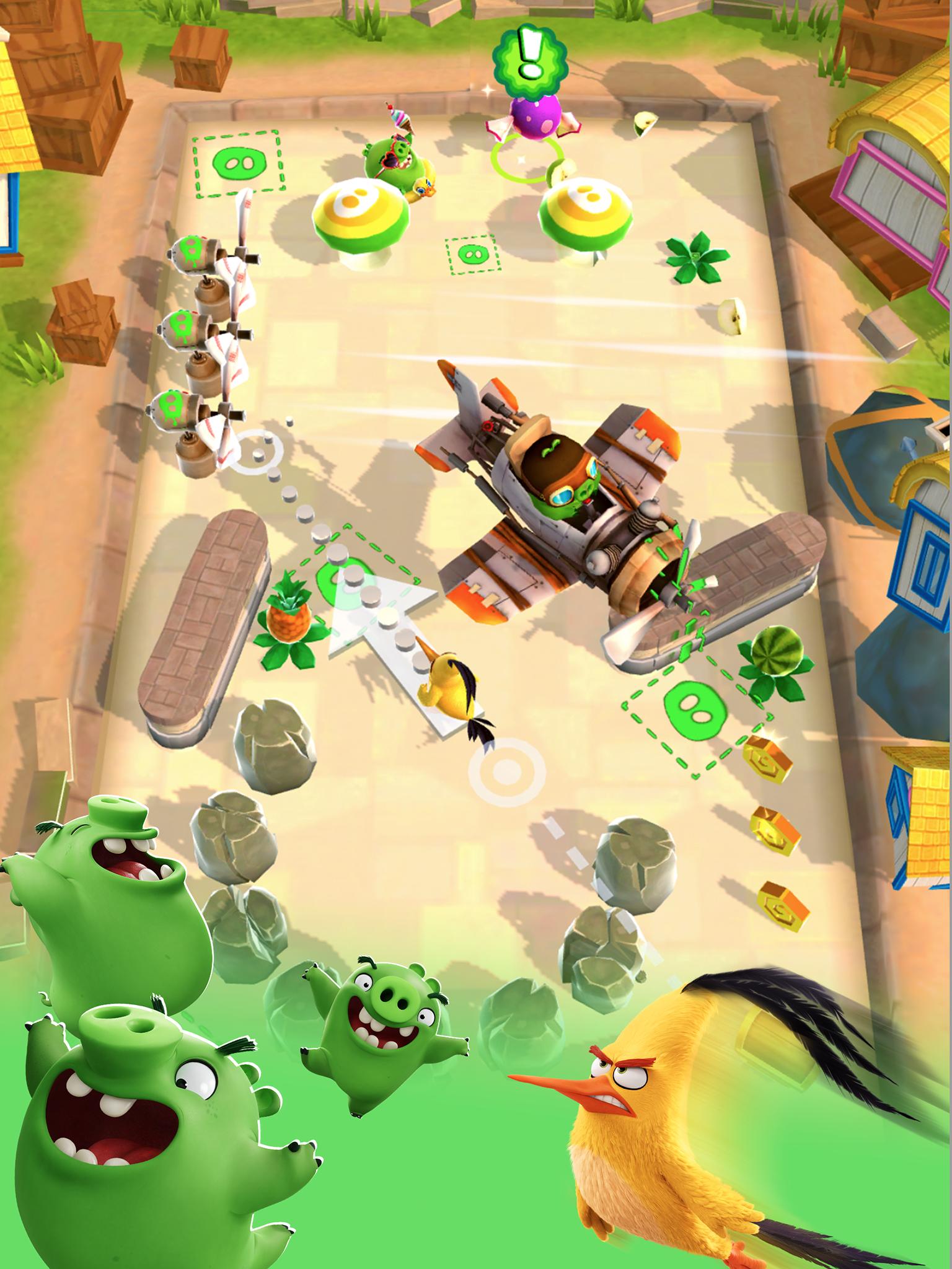 Angry Birds Action! screenshot #15