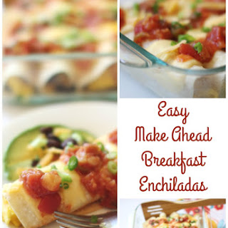 Sweet and Spicy Cheesy Egg & Black Bean Enchiladas