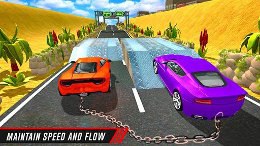 Chain Cars Speed Racing - Break Chain Driving  screenshots 4