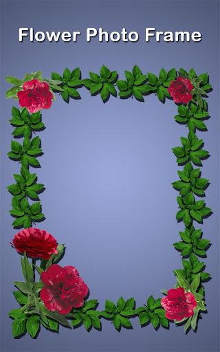 Flowers Photo Frames Editor