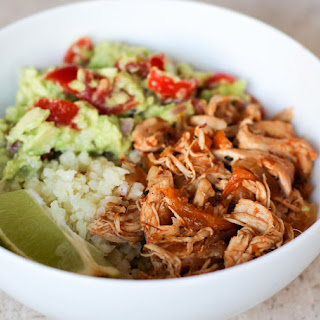 Healthy Chicken Taco Bowl (Whole30!).